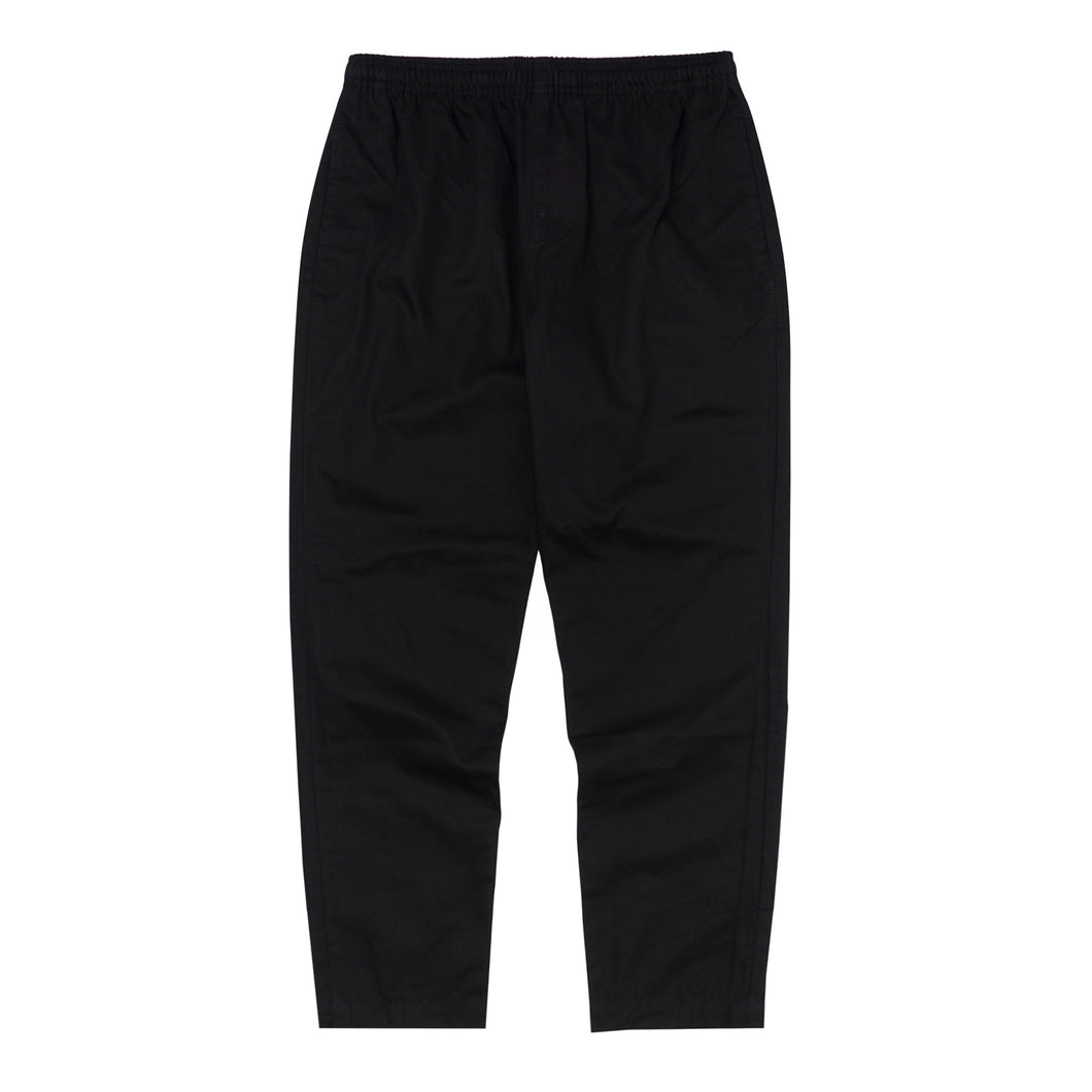 CHARCOAL LIGHTWEIGHT TWILL LOUNGE PANTS