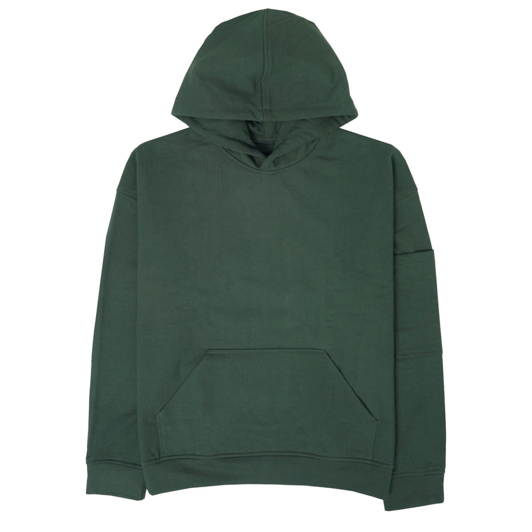 FOREST GREEN HEAVYWEIGHT HOODIE