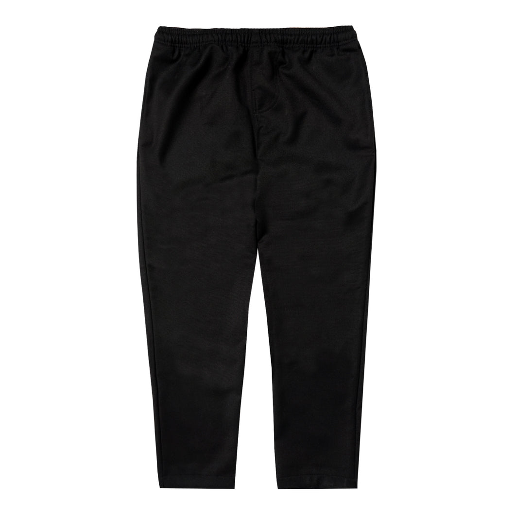 BLACK TWILL LOUNGE PANTS