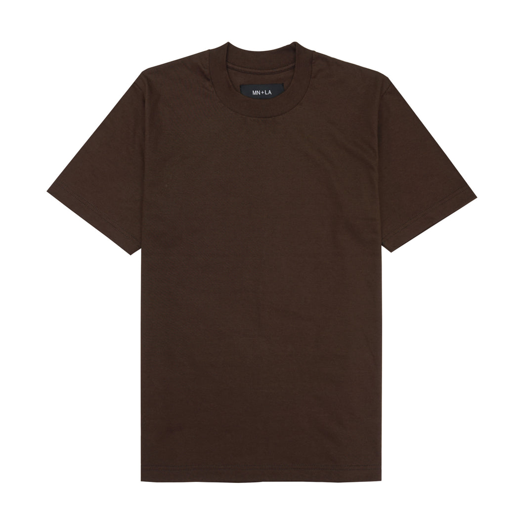 BROWN CLASSIC TEE