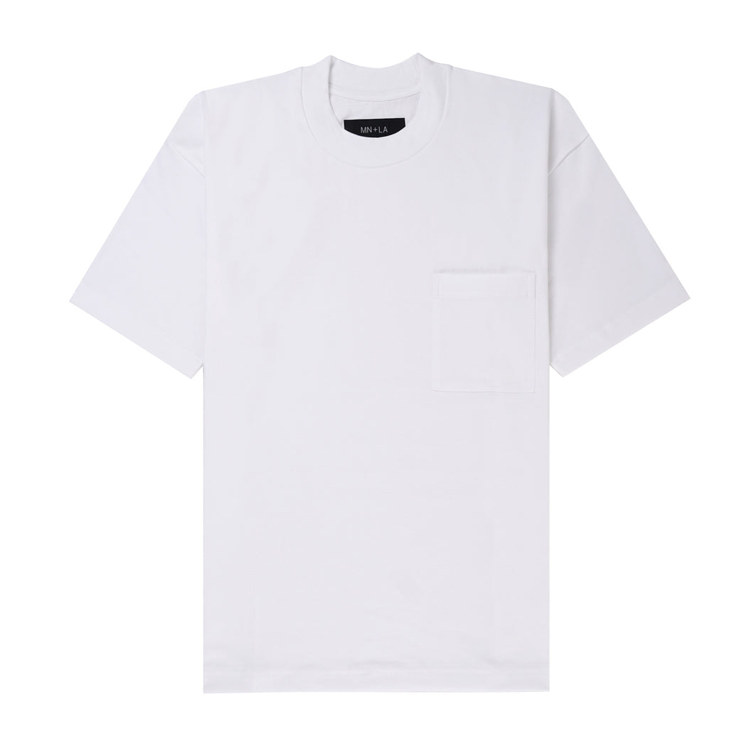 ULTRA HEAVY WHITE POCKET BOX TEE