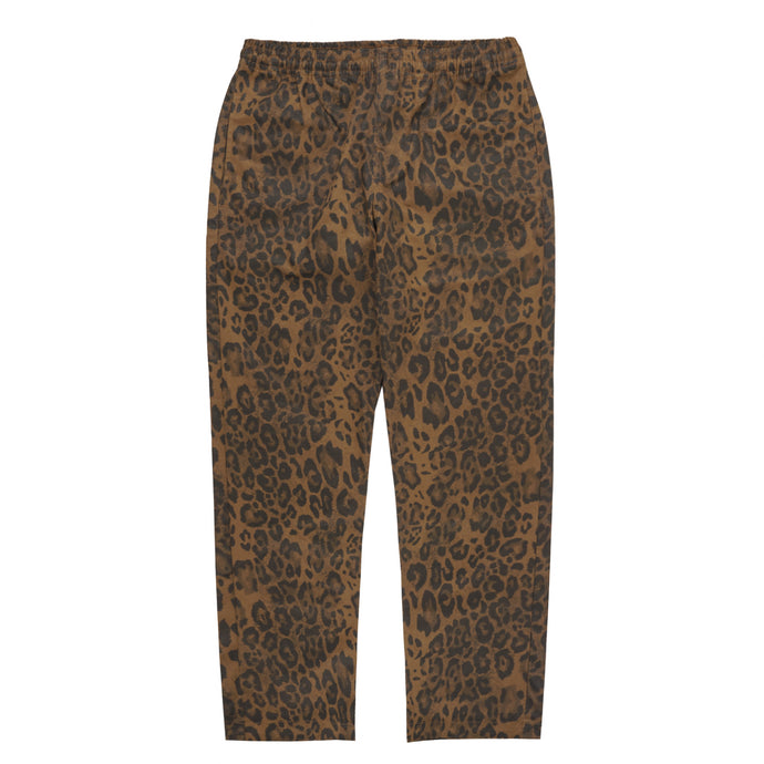 LEOPARD WIDE LOUNGE PANTS