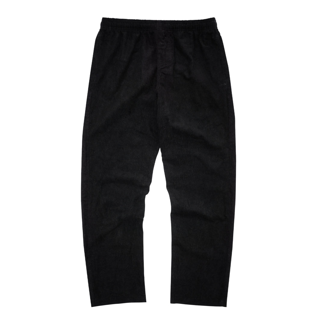 ANTHRACITE CORDUROY WIDE LOUNGE PANTS
