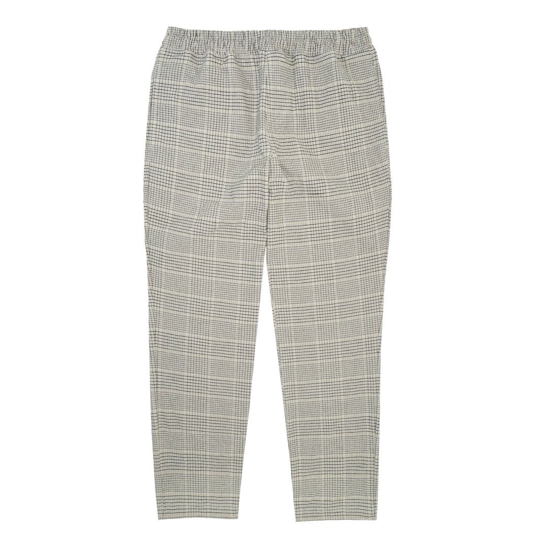 TAN PLAID LOUNGE PANTS
