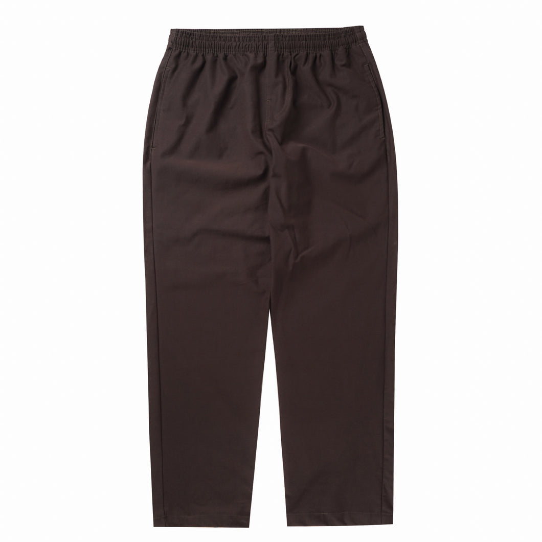 MOCHA WIDE LOUNGE PANTS