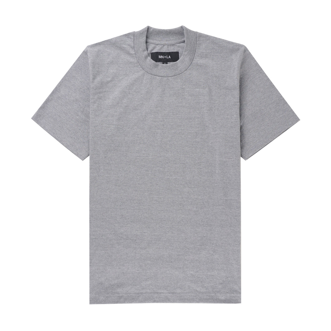 HEATHER GREY CLASSIC TEE