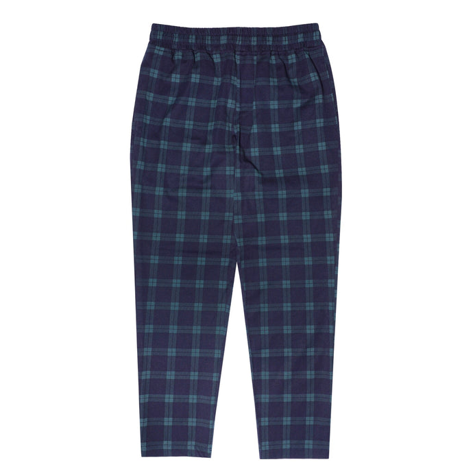 NAVY/GREEN PLAID LOUNGE PANTS