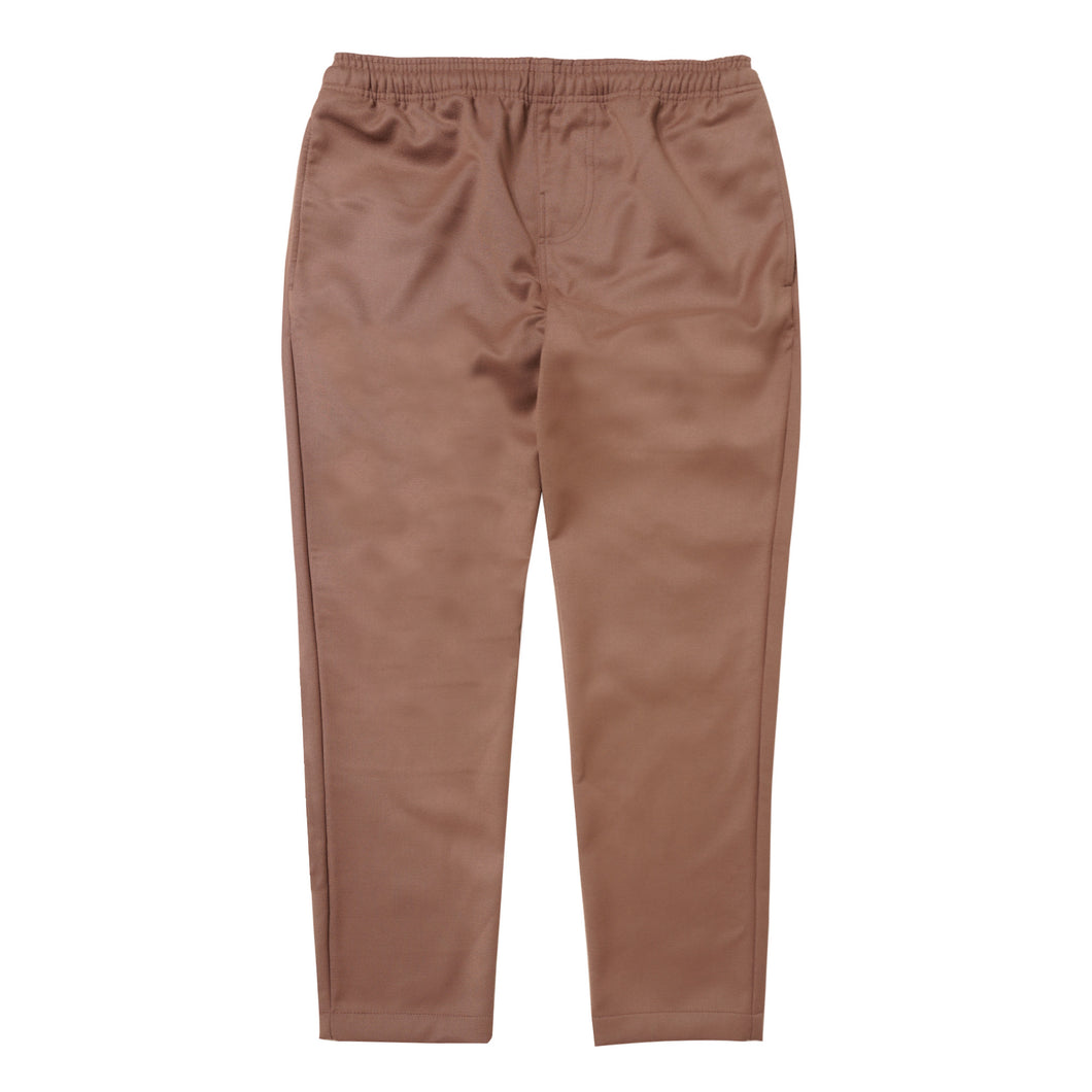 DEEP APRICOT TWILL LOUNGE PANTS