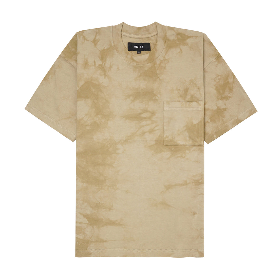 DESERT TIE DYE POCKET BOX TEE