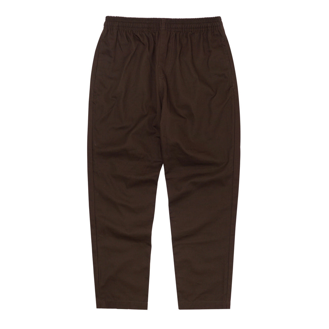 TOBACCO LIGHTWEIGHT TWILL LOUNGE PANTS