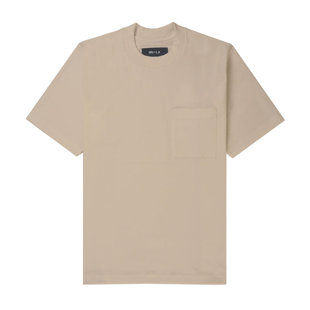 ULTRA HEAVY WHEAT OVERSIZED POCKET TEE