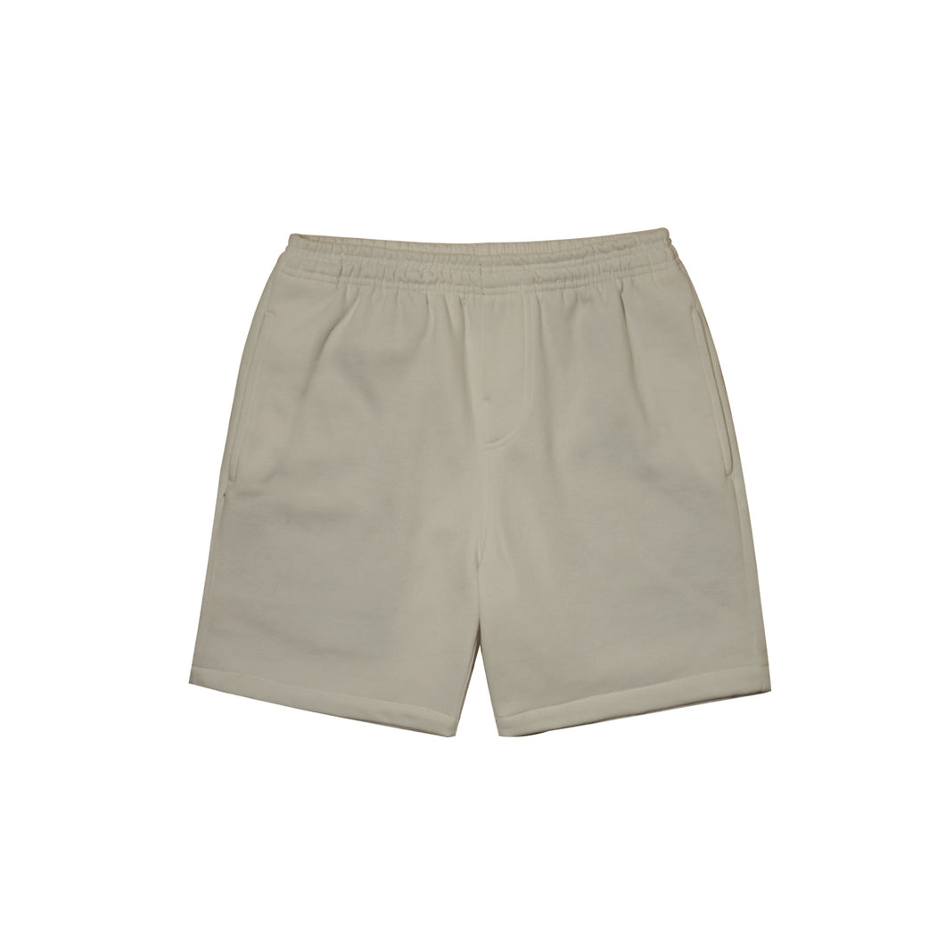 DARK TAN SWEATSHORTS