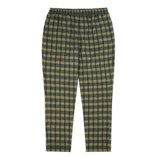 MOSS GREEN FLANNEL LOUNGE PANTS
