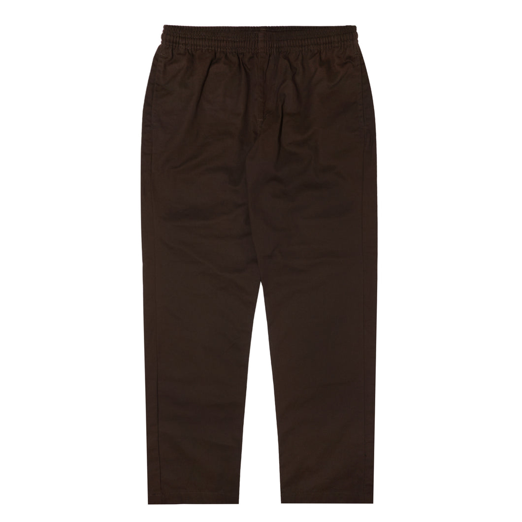 TOBACCO LIGHTWEIGHT WIDE LOUNGE PANTS