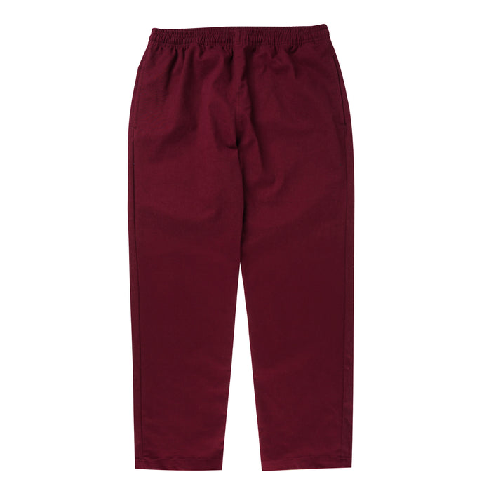 RED VELVET WIDE LOUNGE PANTS