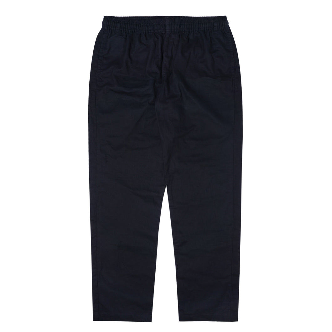 NAVY MIDWEIGHT WIDE LOUNGE PANTS