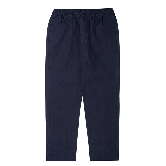 INDIGO DENIM WIDE LOUNGE PANTS