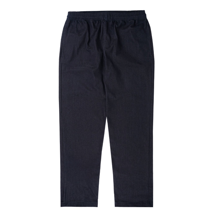 DARK INDIGO DENIM WIDE LOUNGE PANTS