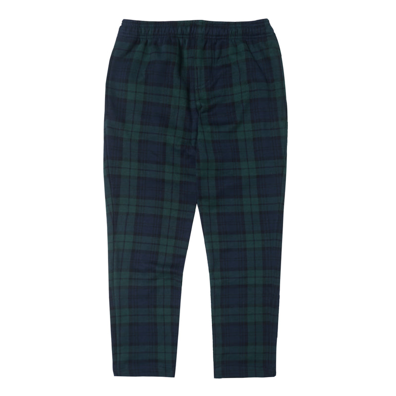 NAVY/GREEN TARTAN LOUNGE PANTS