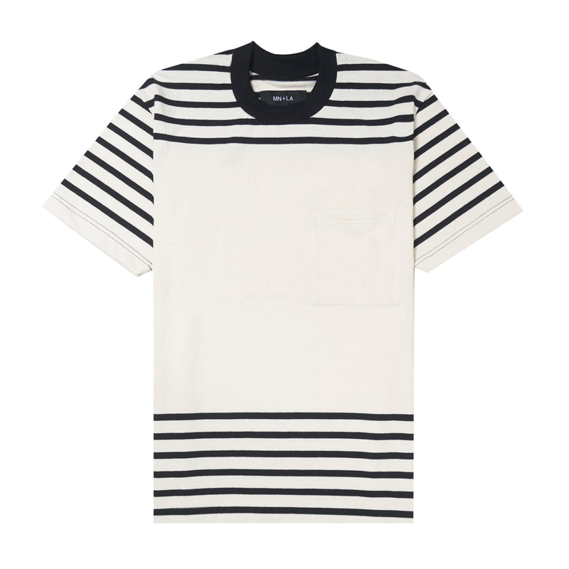 STRIPED POCKET CLASSIC TEE V2