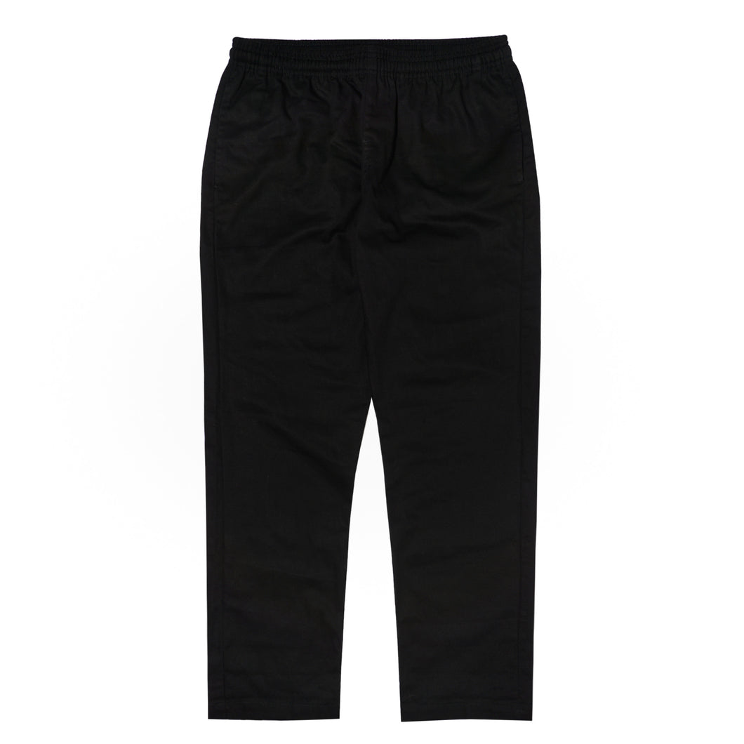 CHARCOAL MIDWEIGHT WIDE LOUNGE PANTS