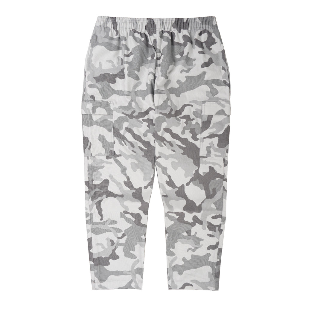 SNOW CAMO 5 POCKET CROPPED PANTS