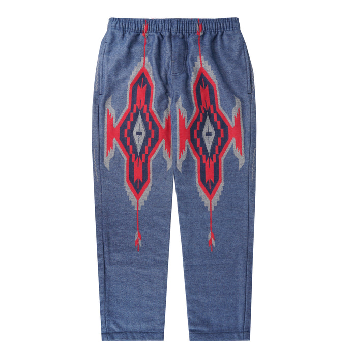 GLACIER AZTEC WIDE LOUNGE PANTS