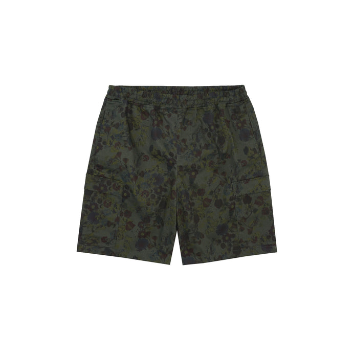 FLORAL TWILL 5 POCKET SHORTS
