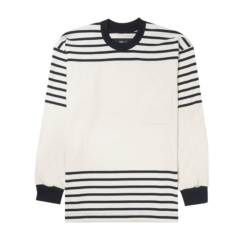 STRIPED POCKET LONGSLEEVE TEE V2
