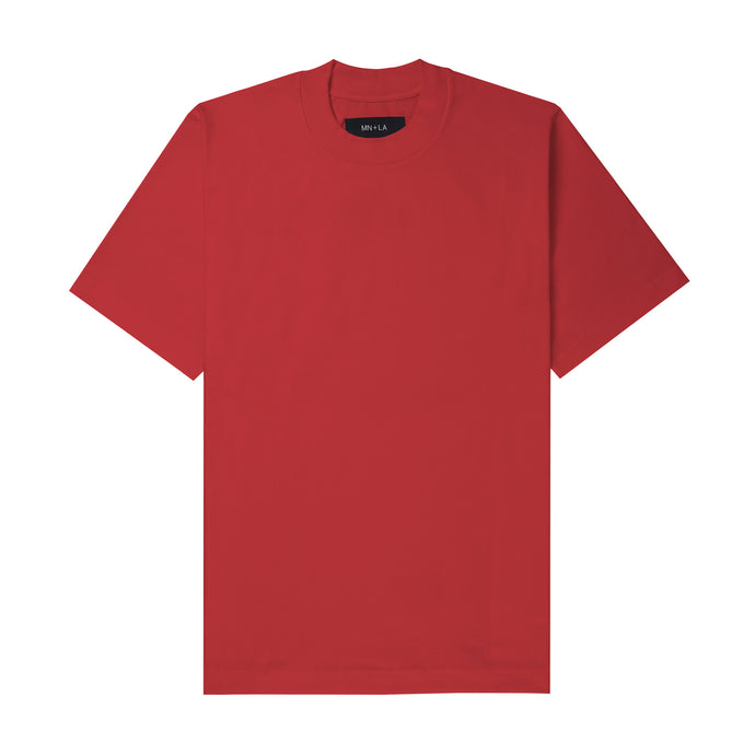 FADED RED OVERSIZED TEE