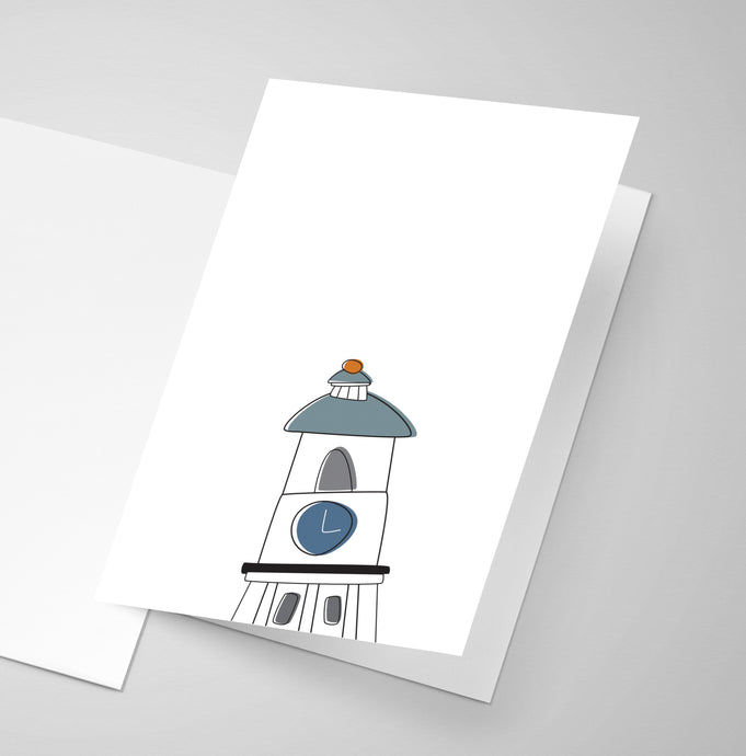 Old Town Clock - Halifax | Greeting Card