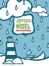 Joyeux Noël des Maritimes | French Greeting Card