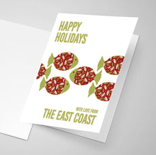 Happy Holidays from the East Coast | B - Greeting Card