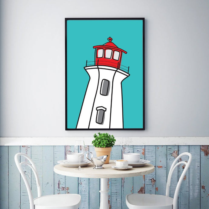 The Lighthouse -Peggy's Cove | Print