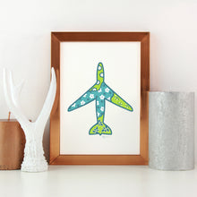 Airplane  | Art Print | Whimsical Collection