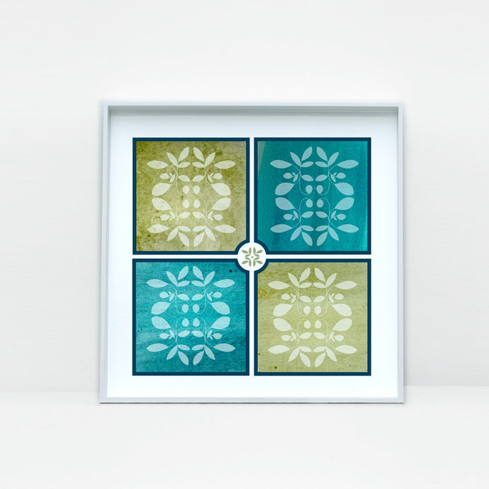 Beautiful Tile Art Print -2