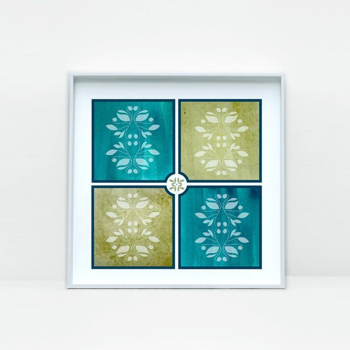 Beautiful Tile Art Print -3