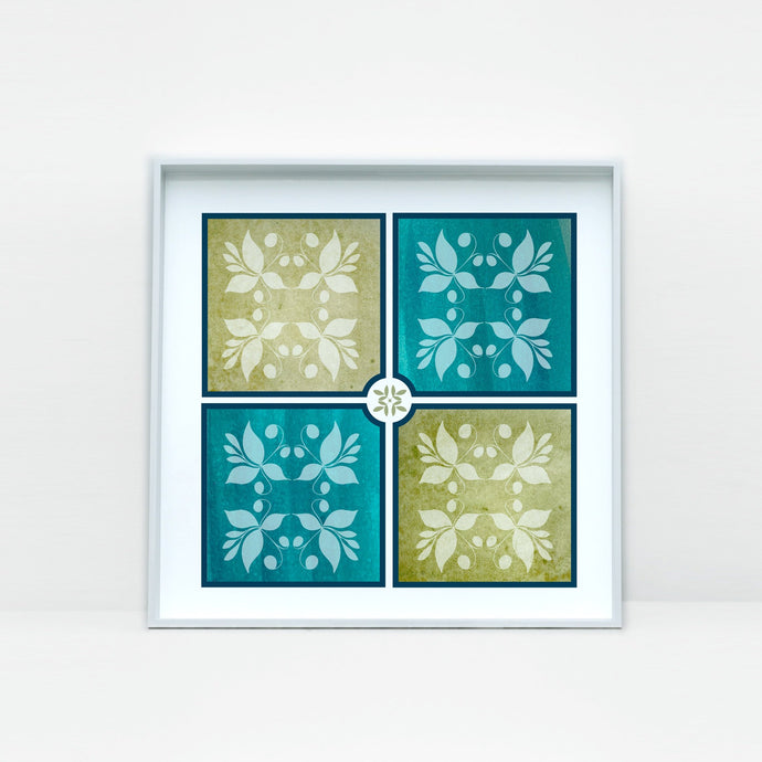 Beautiful Tile Art Print -1