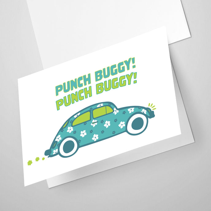 Punch Buggy | Whimsical Collection | Greeting Card