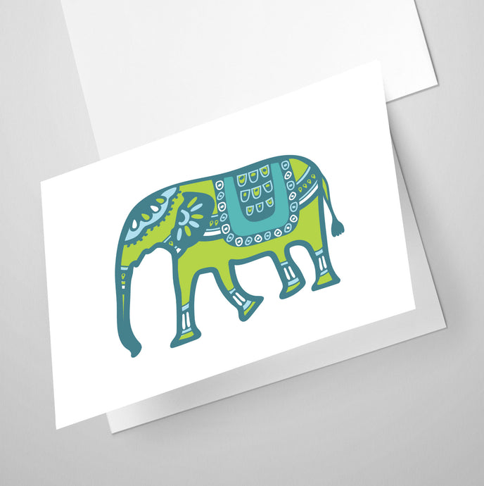 Elephant | Whimsical Collection | Greeting Card