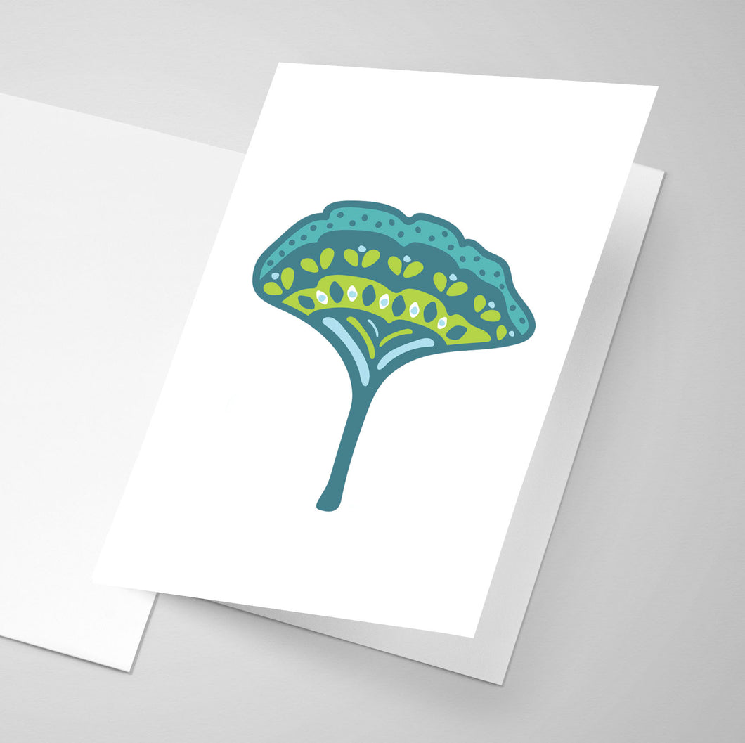 Gingko | Whimsical Collection | Greeting Card