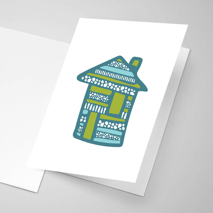 House | Whimsical Collection | Greeting Card