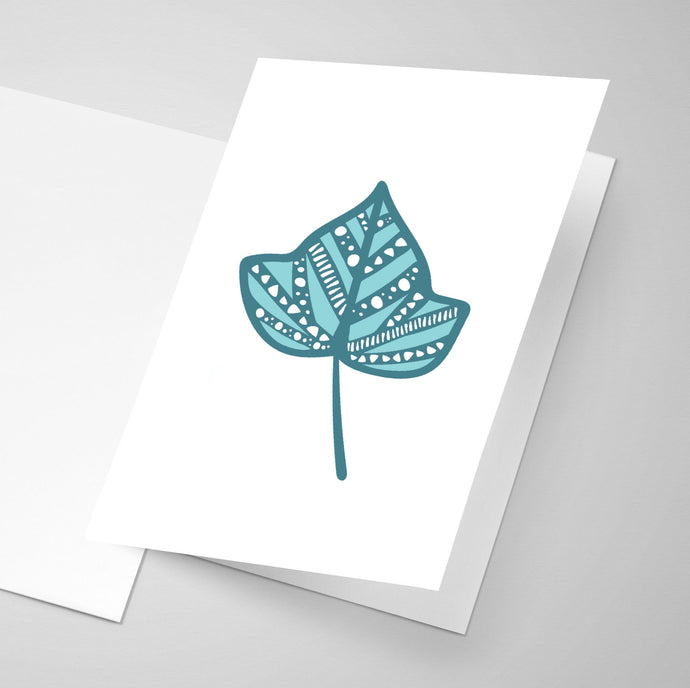 Ivy Leaf - Whimsical Collection | Greeting Card