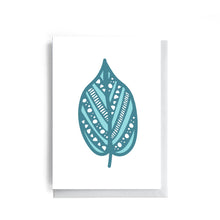 Leaf - Whimsical Collection | Greeting Card