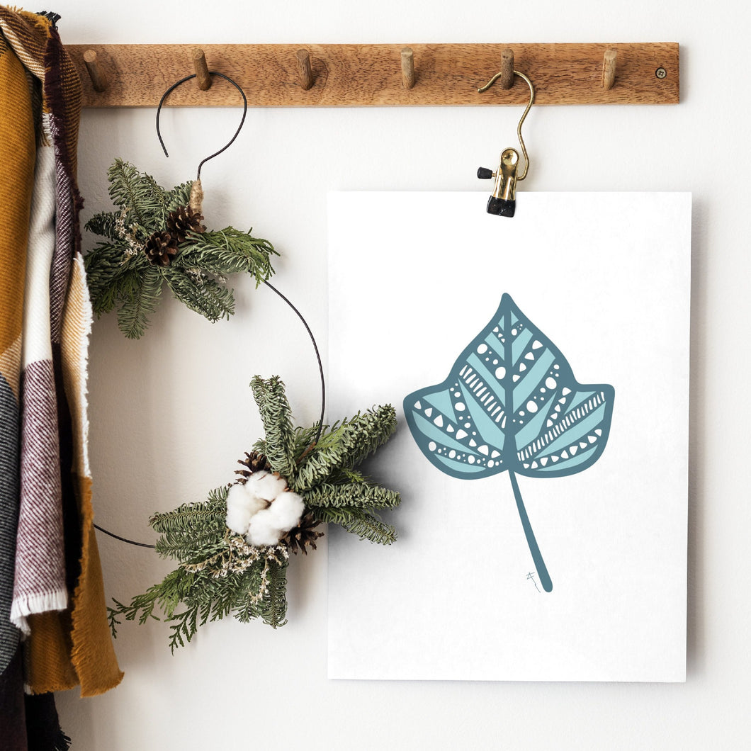 Ivy Leaf  | Art Print | Whimsical Collection