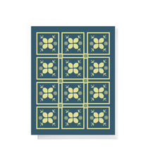 Lemon Tiles - Zesty Collection | Greeting Card