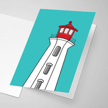 Peggy's Cove Lighthouse | Salt Air Collection | Greeting Card