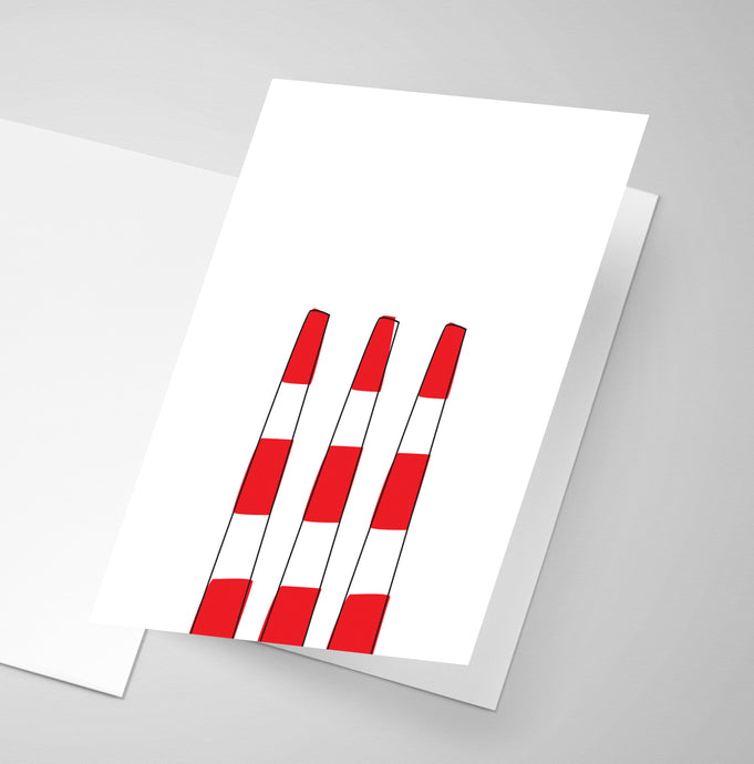 The Dartmouth Smokestacks  | Greeting Card