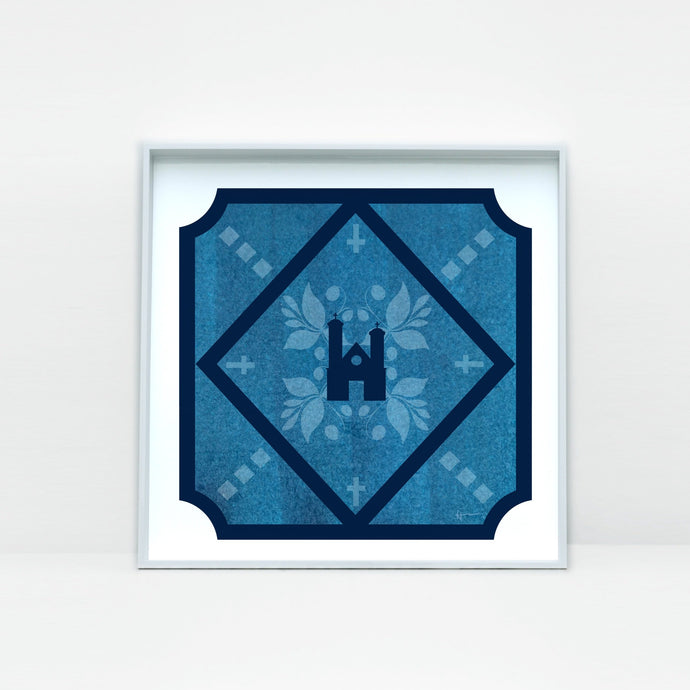 Ste-Famille Roman Catholic Church Tile Art Print