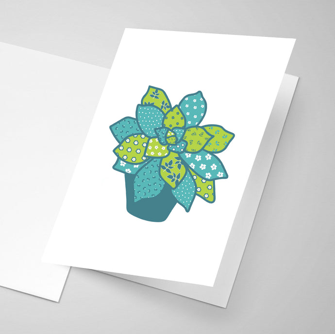 Succulent - Whimsical Collection | Greeting Card